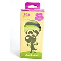 Earth Rated Eco-Friendly Poop Bags Lavender (120 pcs) - ekologiški levandų kvapo šunų išmatų maišeliai (120 vnt)