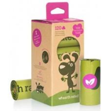 Earth Rated PoopBags Eco Friendly Lavender - ekologiški maišeliai šunų išmatoms levandų kvapo (120 vnt.)