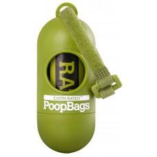 Earth Rated PoopBag laikiklis su maišeliais šunų išmatoms (15 vnt.)