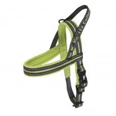 Hurtta Outdoors Padded Harness Birch - klasikinio modelio petnešos, žalios