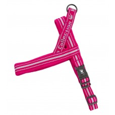 Hurtta Outdoors Padded Harness Cherry - klasikinio modelio petnešos, ryškiai rožinės spalvos