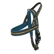 Hurtta Outdoors Padded Harness Juniper - klasikinio modelio petnešos,  tamsiai mėlynos