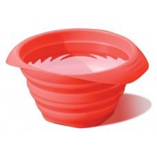 """Kurgo """"Collaps-a-bowl"""" - silikoninis sudedamas dubenėlis, raudonas"""