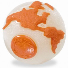 Planet Dog Orbee-Tuff® Orbee Ball - mėtų kvapo kamuoliukas, baltas (šviečiantis)