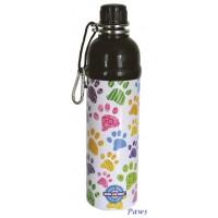 Long Paws Pet Water Bottle - nerūdijančio plieno gertuvė, 750 ml