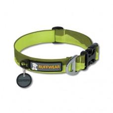 Ruffwear Hoopie™ Collar Cascades - minkštas austinis besiūlis antkaklis, žalias (raštuotas)