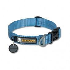 Ruffwear Hoopie™ Collar Glacial Blue - minkštas austinis besiūlis antkaklis, mėlynas