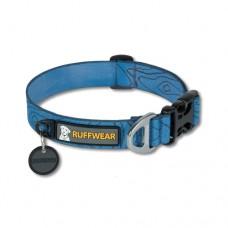 Ruffwear Hoopie™ Collar Topo - minkštas austinis besiūlis antkaklis, mėlynas (raštuotas)