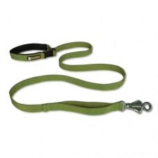 Ruffwear Flat Out™ Forest Green - reguliuojamas pavadėlis, žalias