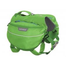 Ruffwear Approach Pack™ (Orange Poppy, Meadow Green) - kuprinė šunims (užsakoma prekė)