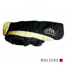 Wolters Skijacket Dogz Wear black/lime - šilta striukė, juoda su žaliais elementais