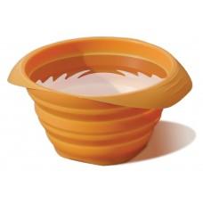 """Kurgo """"Collaps-a-bowl"""" - silikoninis sudedamas dubenėlis, oranžinis"""