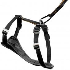 Kurgo Tru-Fit Smart Harness™ - petnešos su praplatėjimu krūtinės srityje, juodos