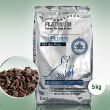 Platinum Puppy Chicken - visavertis sausas pašaras šuniukams ir jauniems šunims su vištiena, 5 kg/15 kg