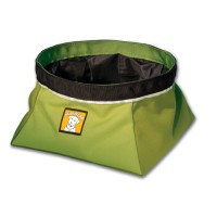 Ruffwear Quencher™ - sulankstomas dubenėlis, žalias